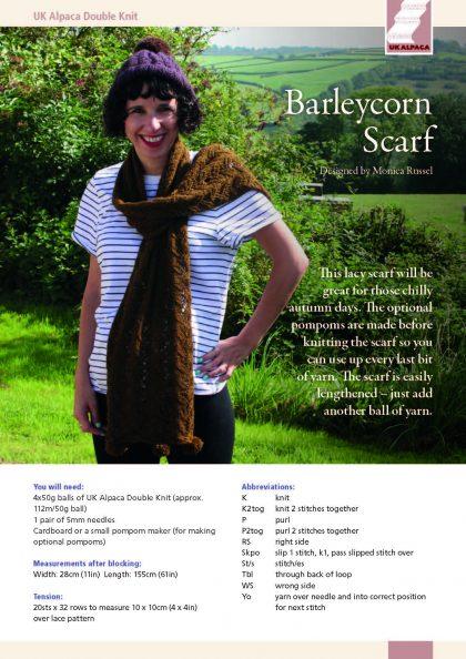 Barleycorn Scarf by Monica Russel