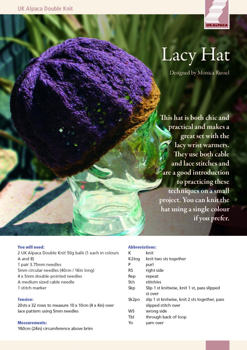 Lacy Hat by Monica Russel