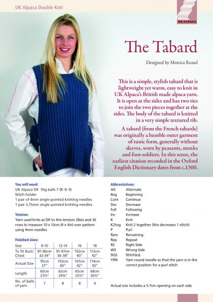 The Tabard by Monica Russel