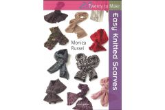 Easy Knitted Scarves by Monica Russel