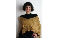Lexie Triangular Shawl by Ann Holvey