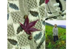 Little Leaf Cardigan by Sasha Kagan
