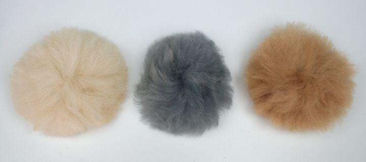 Alpaca Fur Pompoms