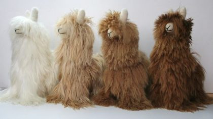 Suri Alpaca Soft Toy-Brown