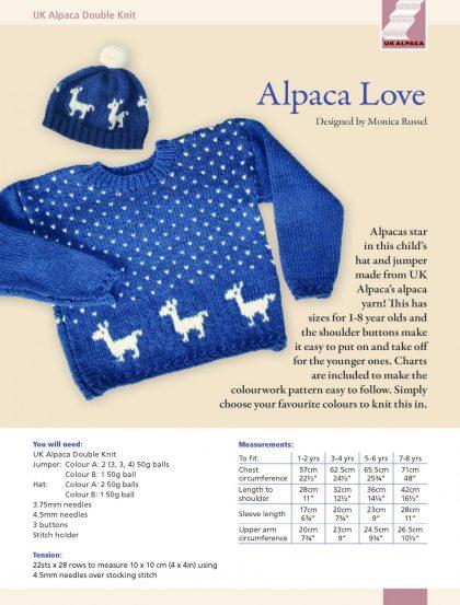 Knitting Patterns Uk Alpaca