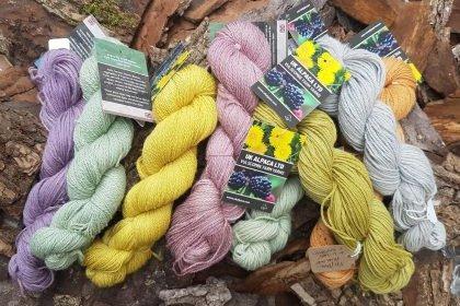 Vulscombe Yarns Plant Dyed DK