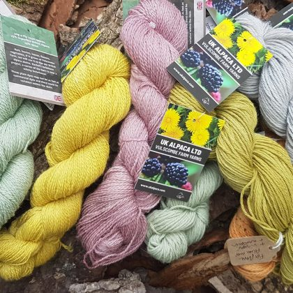 Vulscombe Yarns Plant Dyed DK
