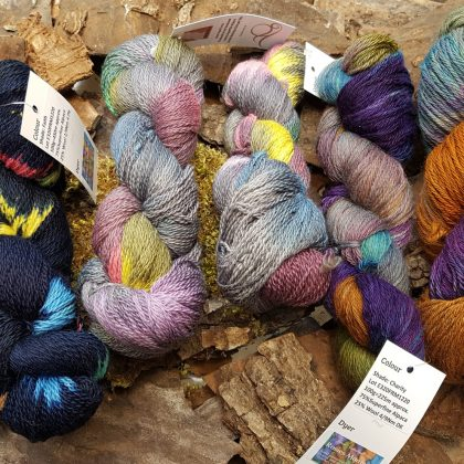 New Year DK Hand Dyed Yarns