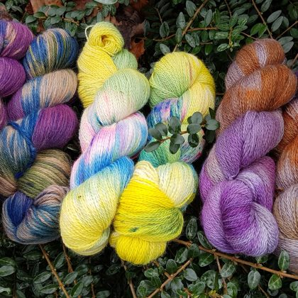 New Year 4 Ply Hand Dyed Yarns