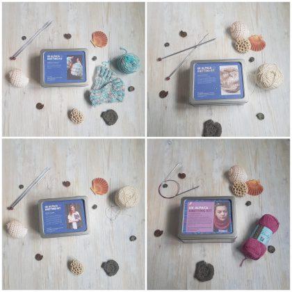 Knitting & Crochet Kit Tins